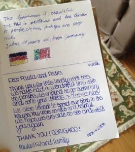 Paula & Justus -12 e 10 anos- da Alemanha (Ago2015)