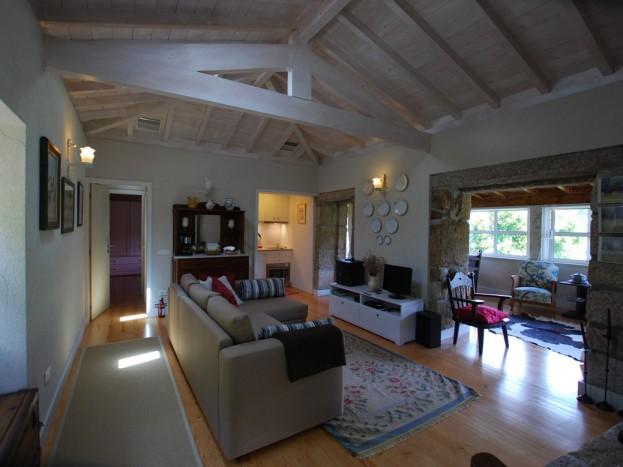 Casa da Raposeira - sala de estar