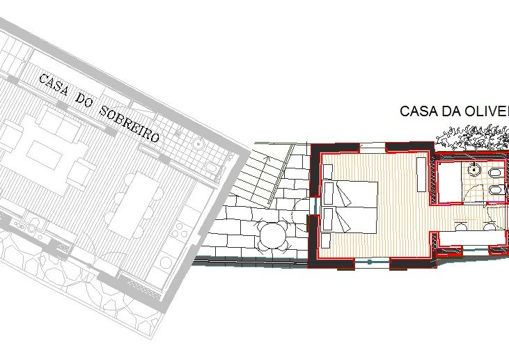 Casa da Oliveira - plan