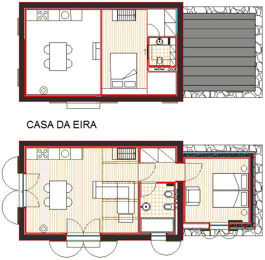 Casa da Eira floor plan