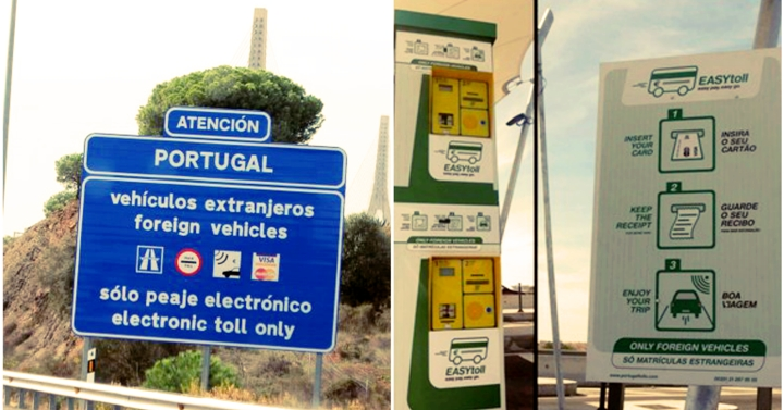Portugal eletronic only tolls