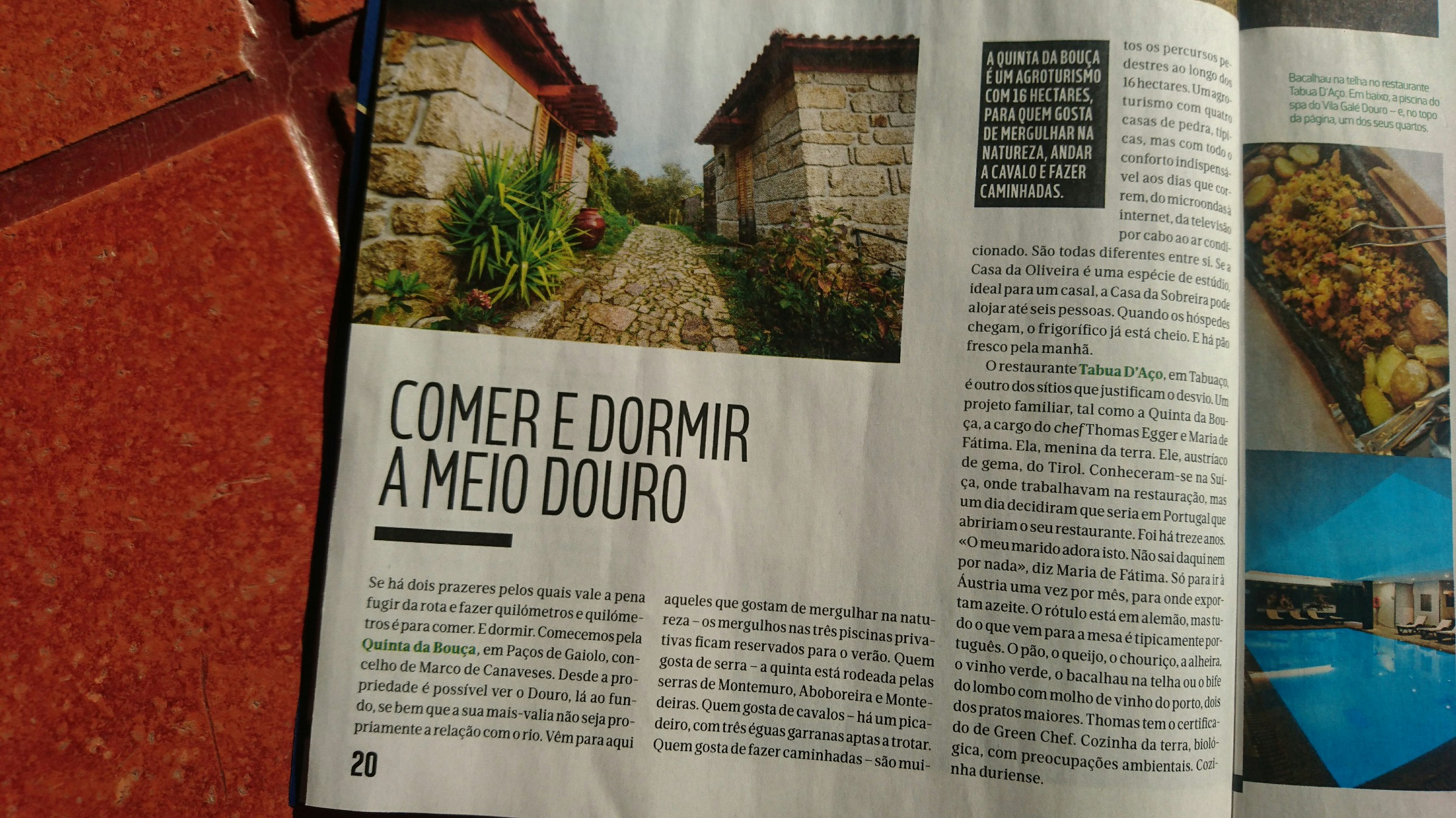 evasões magazine 09-12-2016 winter time in douro