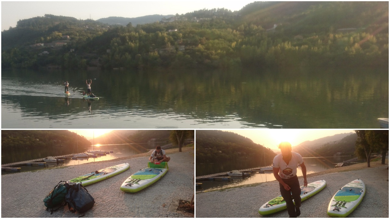 Douro SUP Expedition 10th day , arrival to Cais da Pala.